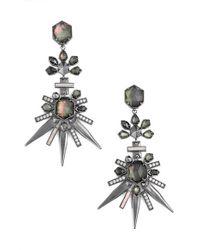 Kendra Scott | Metallic 'isadora' Jewel Drop Earrings | Lyst