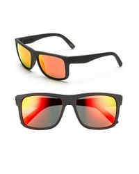 Electric | Gray 'swingarm' 57mm Sunglasses - Ohm Grey Firechrome for Men | Lyst