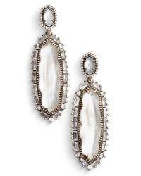 Kendra Scott | Metallic 'kalina' Drop Earrings | Lyst