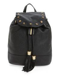 See By Chloé | Black Vicki Leather Backpack | Lyst