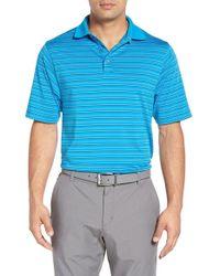 Bobby Jones | Blue 'xh20 Carbon' Multi Stripe Golf Jersey Polo for Men | Lyst