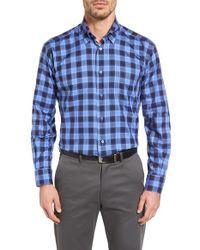 Robert Talbott | Blue 'anderson' Classic Fit Check Sport Shirt for Men | Lyst