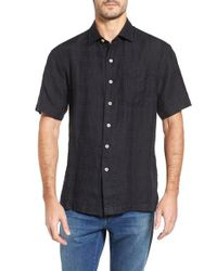Tommy Bahama - Black The Big Bossa Standard Fit Sport Shirt for Men - Lyst