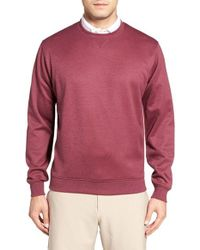 Peter Millar | Pink Jefferson Executive Sweatshirt for Men | Lyst