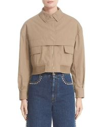 Stella McCartney - Multicolor Trench Bomber Jacket - Lyst