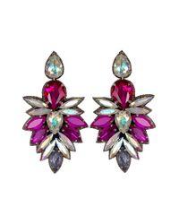 Suzanna Dai | Purple 'cuzco' Drop Earrings | Lyst