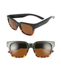 750c3ade41 Lyst - Smith Optics  comstock  52mm Rectangular Sunglasses - Olive ...