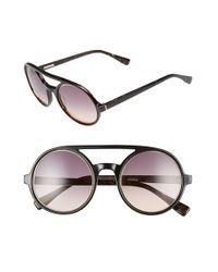 Derek Lam | Brown 'morton' 52mm Sunglasses | Lyst