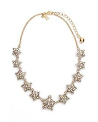 Kate Spade | Metallic 'bright Star' Collar Necklace | Lyst