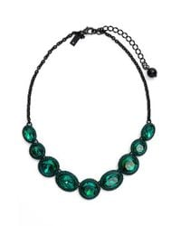 kate spade new york | Green 'absolute Sparkle' Collar Necklace | Lyst