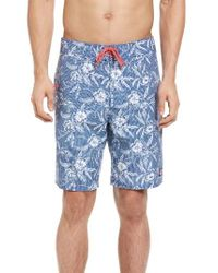 Vineyard Vines | Blue Hibiscus Dot Board Shorts for Men | Lyst