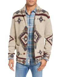 Lucky Brand | Multicolor Fireside Shawl Collar Cardigan for Men | Lyst