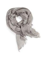 Madewell | Gray Arrow Mountain Wool Scarf | Lyst