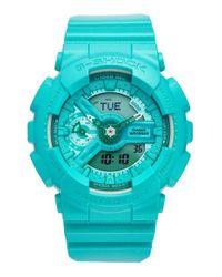 G-Shock | Green G-shock S-series Ana-digi Resin Watch | Lyst