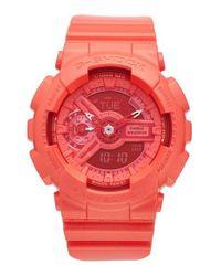 G-Shock | Pink G-shock S-series Ana-digi Resin Watch | Lyst