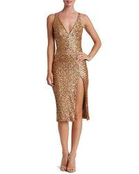 Dress the Population   Multicolor Camilla Sequin Dress   Lyst