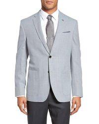 Ted Baker | Gray Trenton Trim Fit Wool Blazer for Men | Lyst