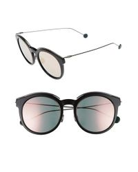 Dior | Black Blossom 52mm Retro Sunglasses | Lyst