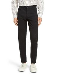 VINCE | Black Soho Slim Fit Five-pocket Pants for Men | Lyst