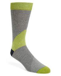 Ted Baker   Gray Canca Stripe Socks for Men   Lyst