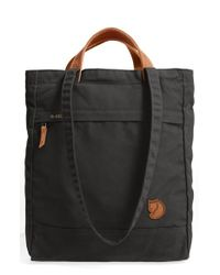 Fjallraven | Black 'totepack No.1' Water Resistant Tote | Lyst