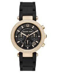 MICHAEL Michael Kors | Metallic 'parker' Bracelet Watch | Lyst