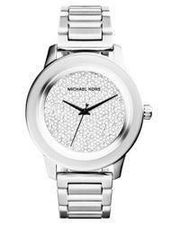 MICHAEL Michael Kors   Metallic 'kinley' Bracelet Watch   Lyst