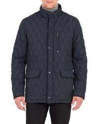 Rainforest   Blue Prichard Heat System Quilted Jacket for Men   Lyst