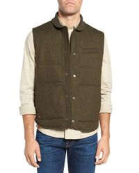 W.r.k.   Green Pritchel Quilted Vest for Men   Lyst