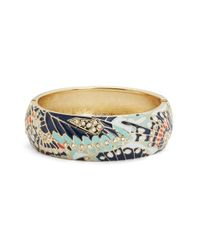 Sequin | Blue Mariposa Wide Bangle | Lyst