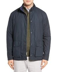 Peter Millar | Blue Harrison Water Resistant Field Jacket for Men | Lyst