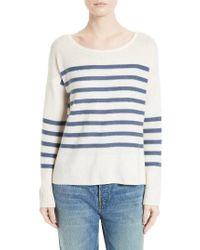 Joie | Multicolor Simonne Stripe Wool & Cashmere Sweater | Lyst