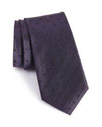 Calibrate | Purple Handmade Dot Silk Tie for Men | Lyst