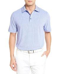 Bobby Jones   Blue Xh20 Rye Check Stretch Golf Polo for Men   Lyst
