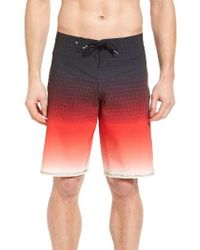 Quiksilver | Red Tech Vee Board Short for Men | Lyst