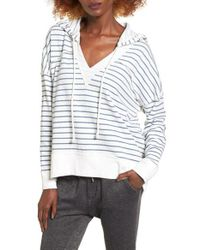 Rip Curl | White Winslow Stripe Pullover | Lyst