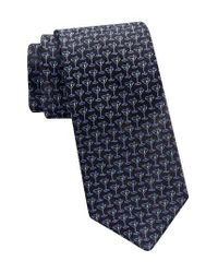 Ted Baker | Blue Martini Silk Tie for Men | Lyst