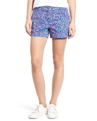 Vineyard Vines | Blue Whale Print Shorts | Lyst