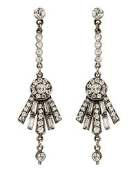 Ben-Amun | Metallic Ben X Belle Swarovski Crystal Drop Earrings | Lyst