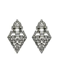 Ben-Amun | Metallic Ben X Belle Epoque Swarovski Crystal Drop Earrings | Lyst