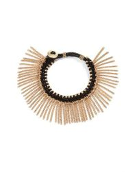 Treasure & Bond | Metallic Treasure&bond Fringe Bracelet | Lyst