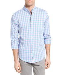 Vineyard Vines | Blue Blyden Tucker Slim Fit Gingham Sport Shirt for Men | Lyst