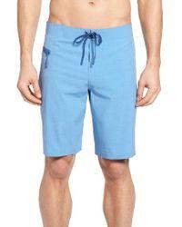 Vineyard Vines | Blue Heather Stretch Board Shorts for Men | Lyst