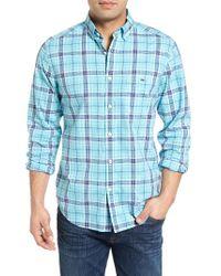 Vineyard Vines | Blue Freshwater Tucker Classic Fit Sport Shirt for Men | Lyst