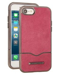 Rebecca Minkoff | Pink Leather Iphone 7 Slider Case | Lyst