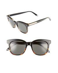 Victoria Beckham | Gray The Vb 52mm Retro Sunglasses | Lyst
