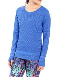 Lolë | Blue Zaire Top | Lyst