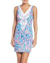 Lilly Pulitzer | Blue Lilly Pulitzer Gabby Dress | Lyst