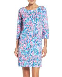 Lilly Pulitzer | Blue Lilly Pulitzer Bay Shift Dress | Lyst