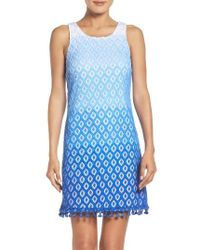 Lilly Pulitzer | Blue Lilly Pulitzer Marquette Lace Dress | Lyst
